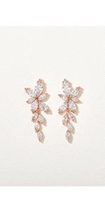 Marquise Wedding Earrings