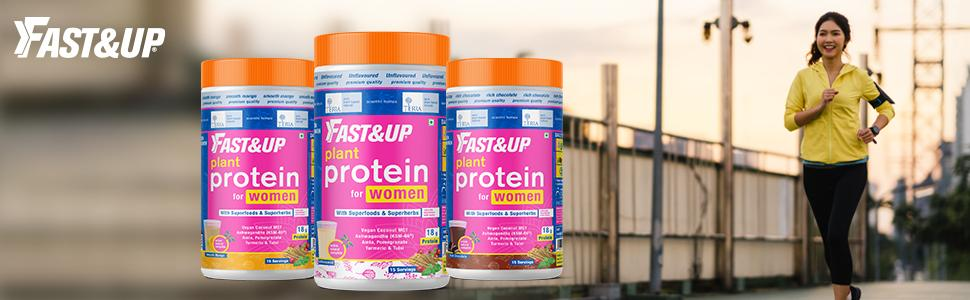 Plant protein for women vegan protein pea brown rice weight management hormonal balance skin health