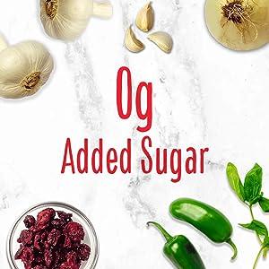 0 added sugar