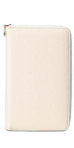 Multifunctional wallet, white
