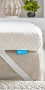 RECCI 3-Inch Memory Foam Mattress Topper