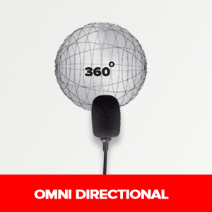 Omnidirectional Lavalier Microphone from Xtreme Acoustics