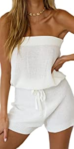white rompers sumer basic for womens  and girls