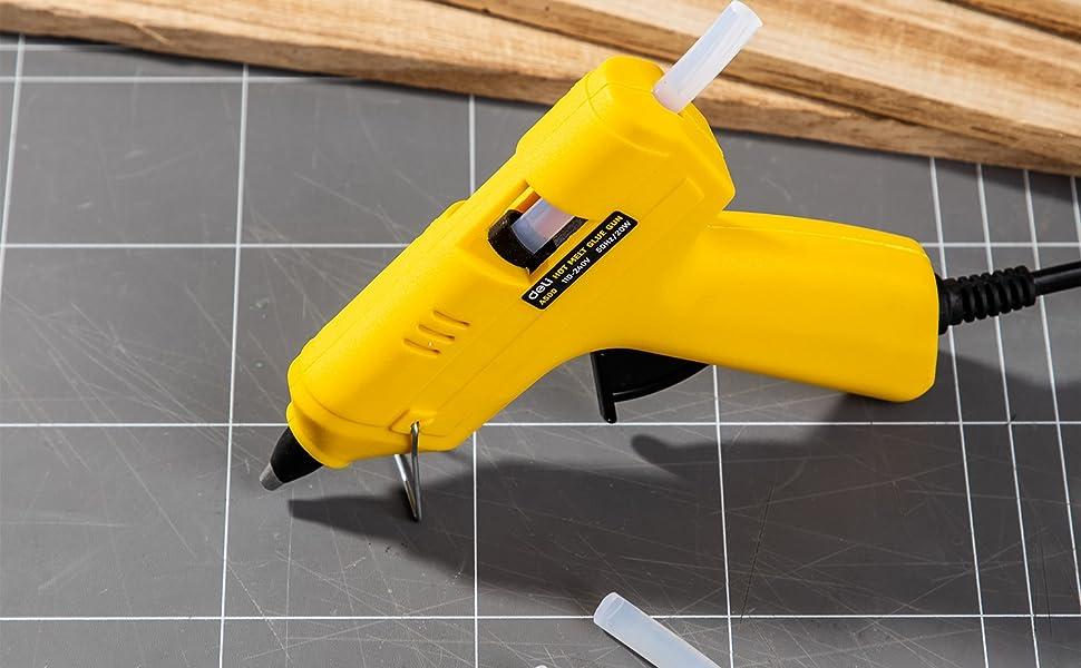 Deli Hot Melt Glue Gun 20 Watts EA50061