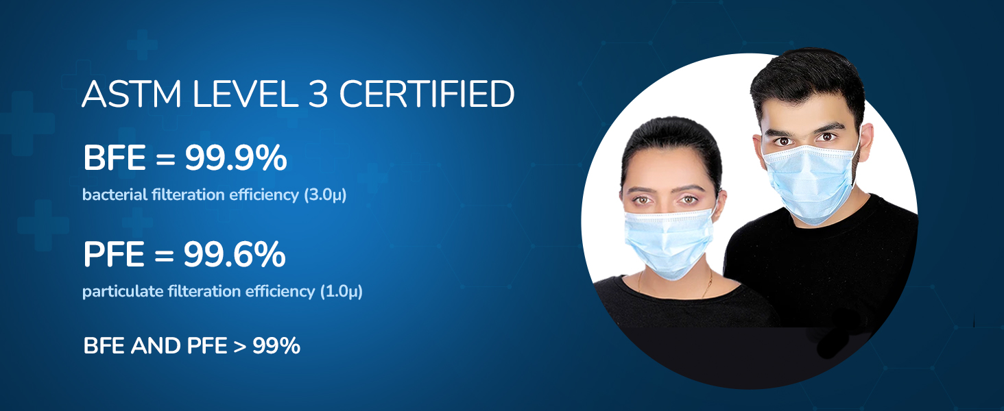 ASTM level 3 certified