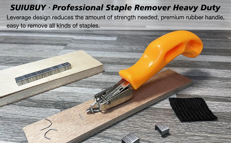 SUIUBUY 丨 Staple Remover Heavy Duty Tool
