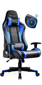 Bluetooth Speaker Gaming Chair