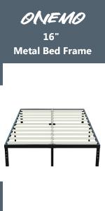 """16"""" metal bed frame"""