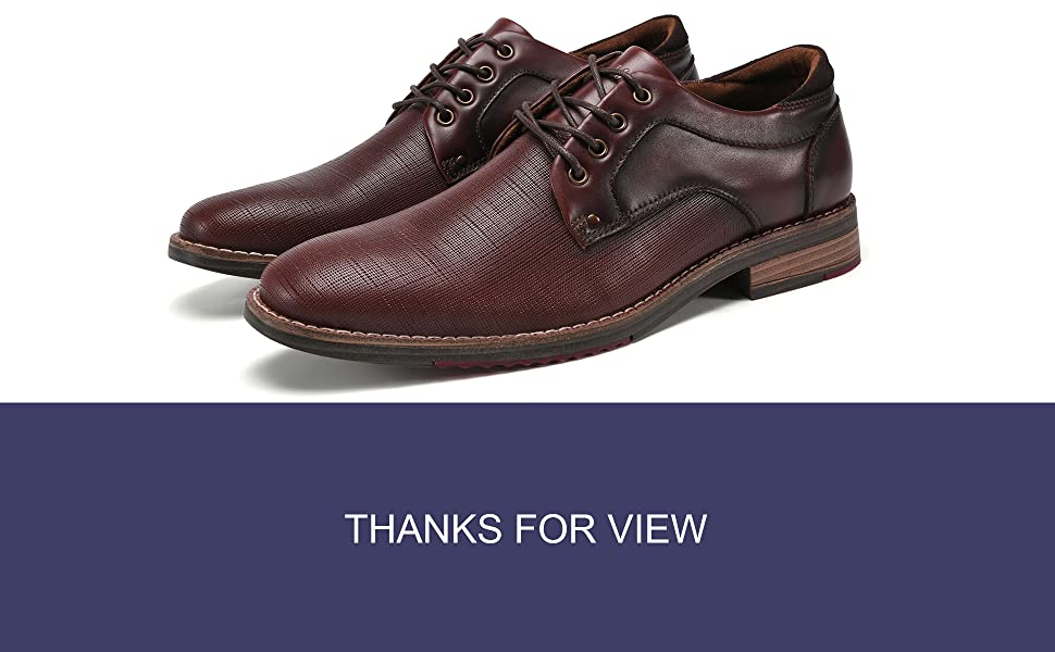 dress shoes for men genuine leather
