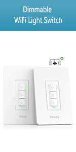 Dimmable WiFi Light Switch