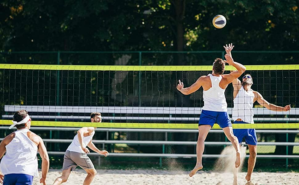 portable volleyball net