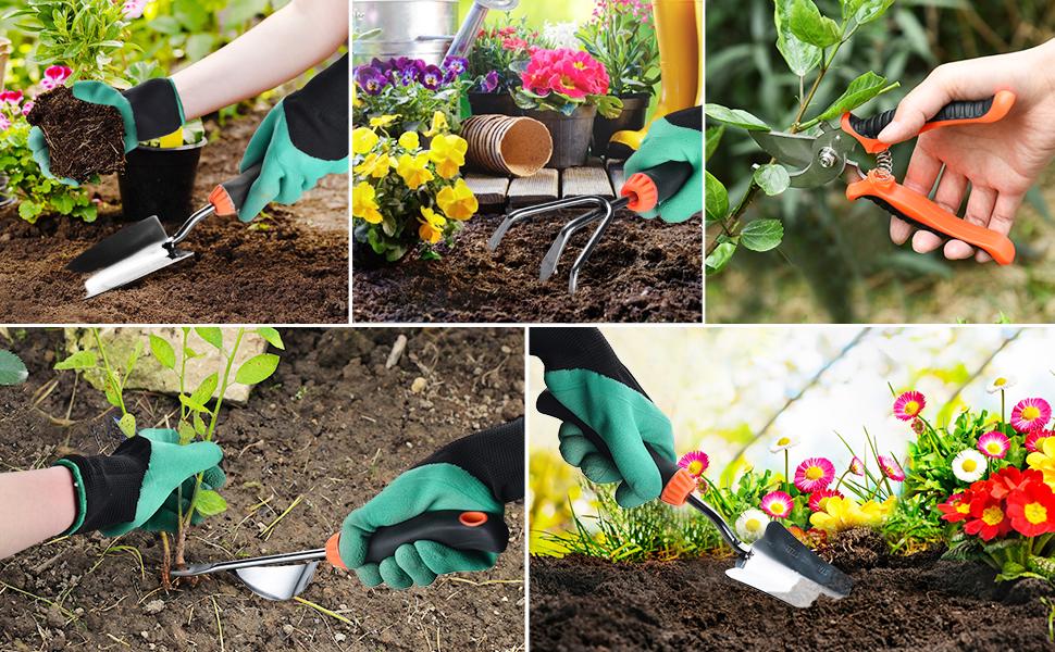 5 Heavy-duty  Garden Tools