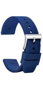 blue watch band