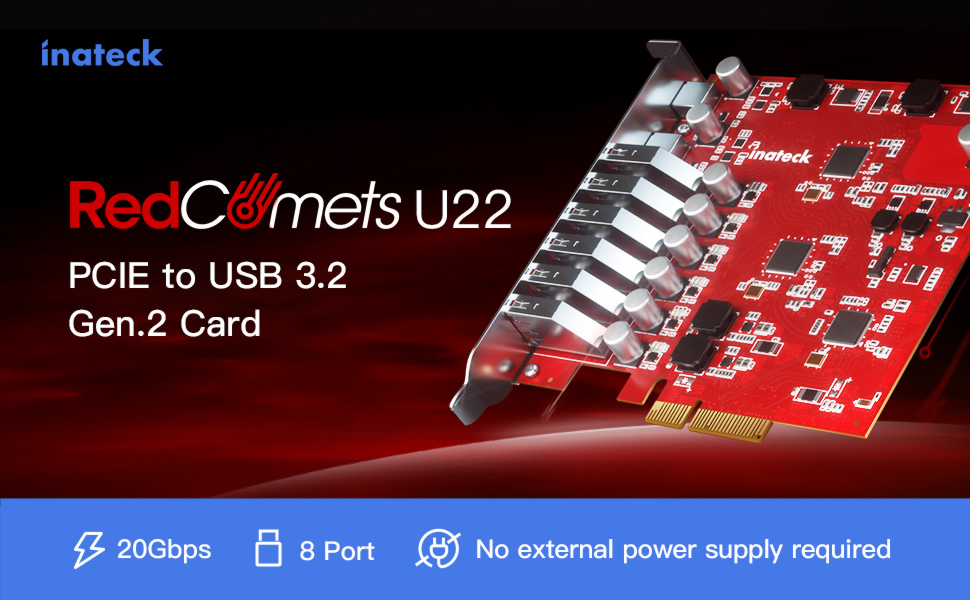 pcie to usb card