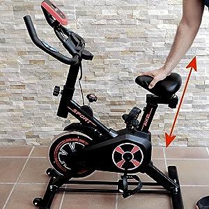 bicicleta de spinning fitfiu, bicicleta de spinning gridinlux, bicicleta estatica