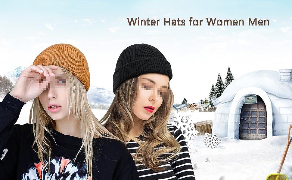 Unisex Sports Outdoor Warm Winter Hats