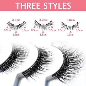 magnet eyelashes set