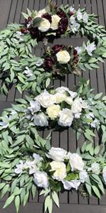 2PCS Wedding Arch Flowers