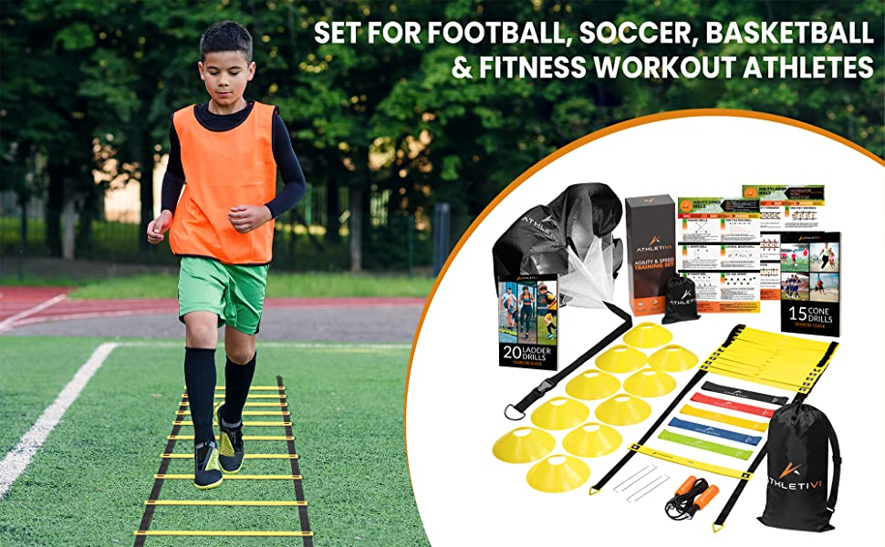 agility ladder speed training equipment Soccer Equipment for Training agility training equipment