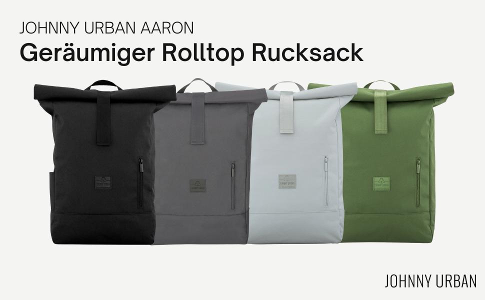 Johnny Urban Aaron Rolltop Rucksack