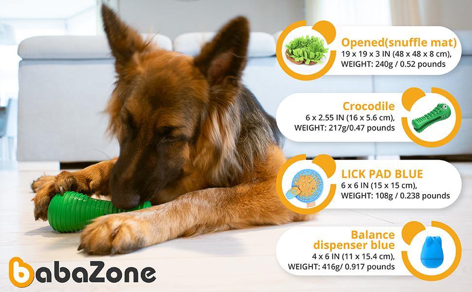 medio grande perros regalo de cumpleaños del perro enriquecimiento interactivo