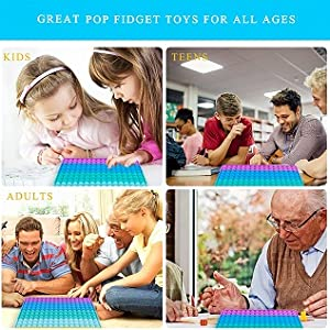256 Bubbles Big Pop Fidget Toy Game