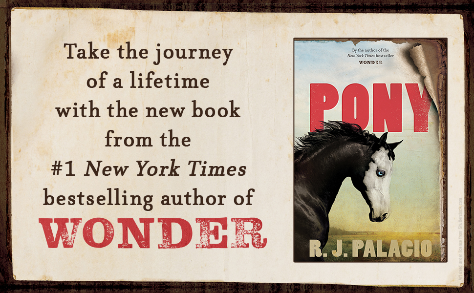 TAKE THE JOURNEY OF A LIFETIME with the new books from New York Times bestselling author of Wonder