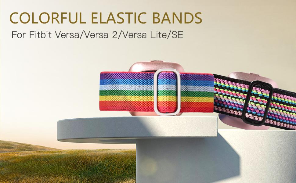 GEAK Elastic Bands for fitbit versa 2