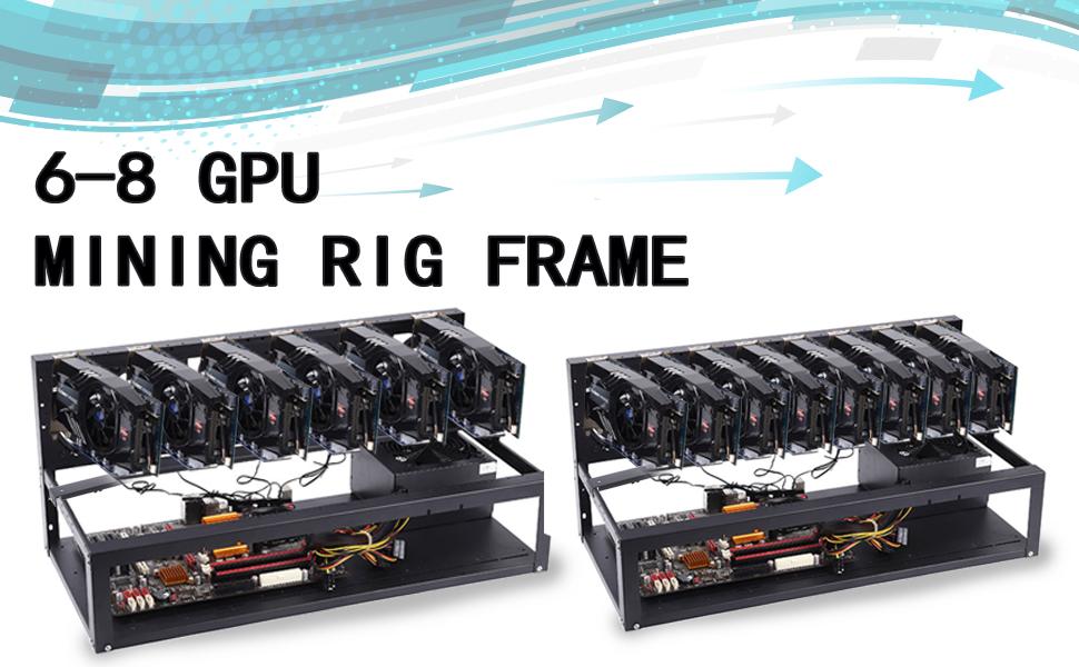 Mining Rig Frame 8 GPU 1