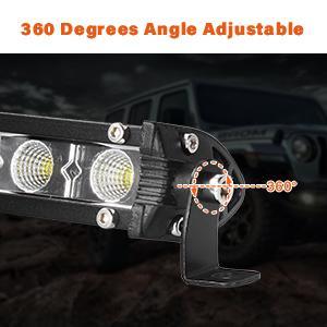 360° angle adjustable
