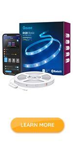 Govee 32.8ft RGB Bluetooth LED Strip Light H613B