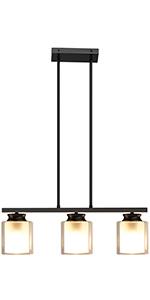 3-Light Pendant Light Fixture