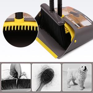 Scraper design on dustpan