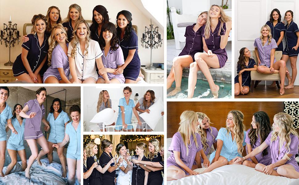 Summer Party in SIORO  Short Pajamas set