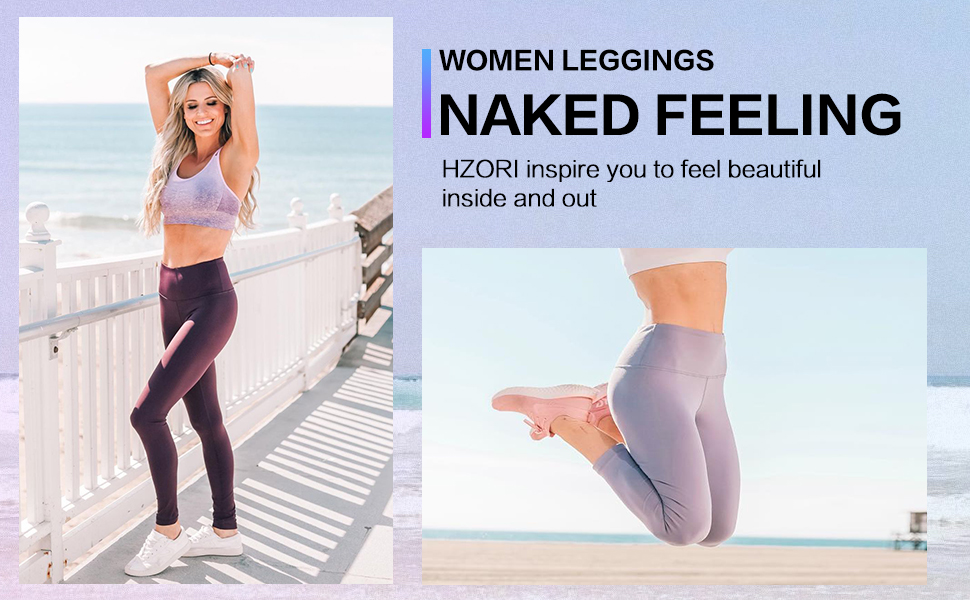 Soft touch high waisted tummy control leggings for women