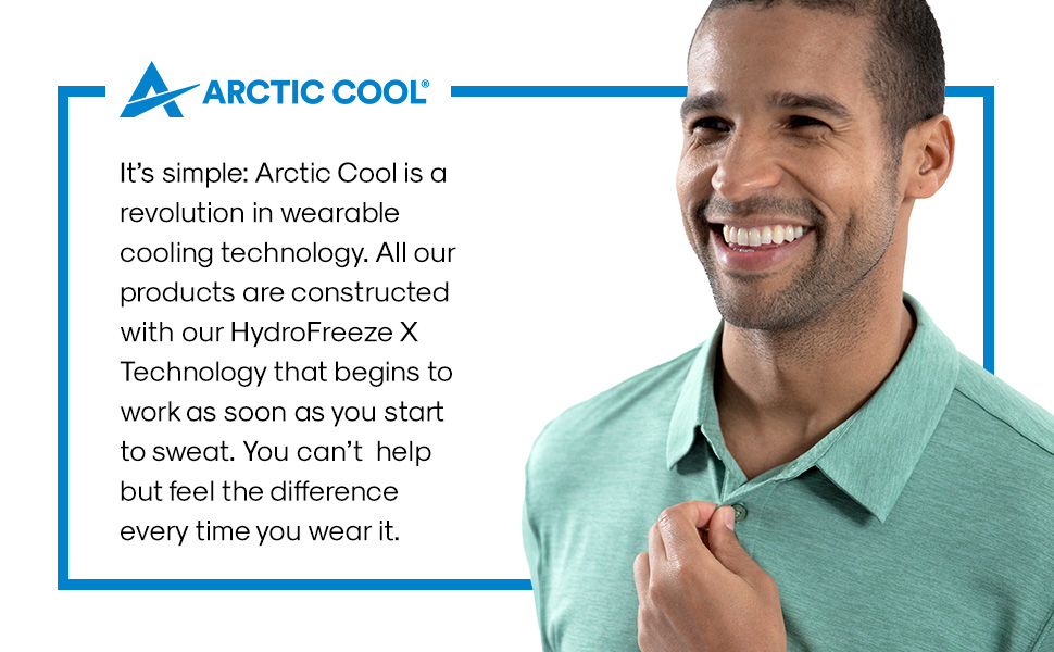 Arctic Cool Instant Cooling Technology