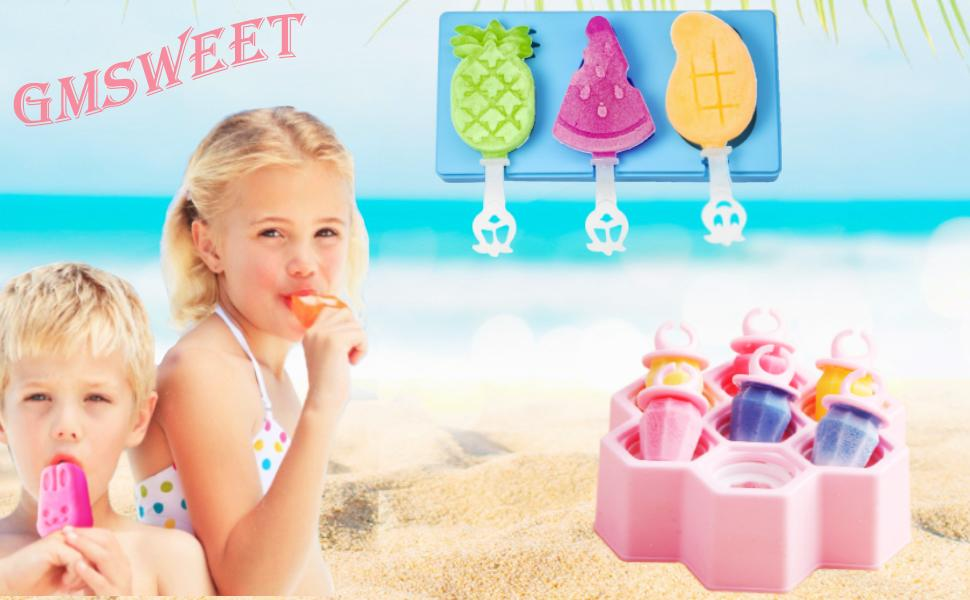 silicone ice cream mold popsicle molds for kids ice pop molds ice cream mold baby popsicle molds