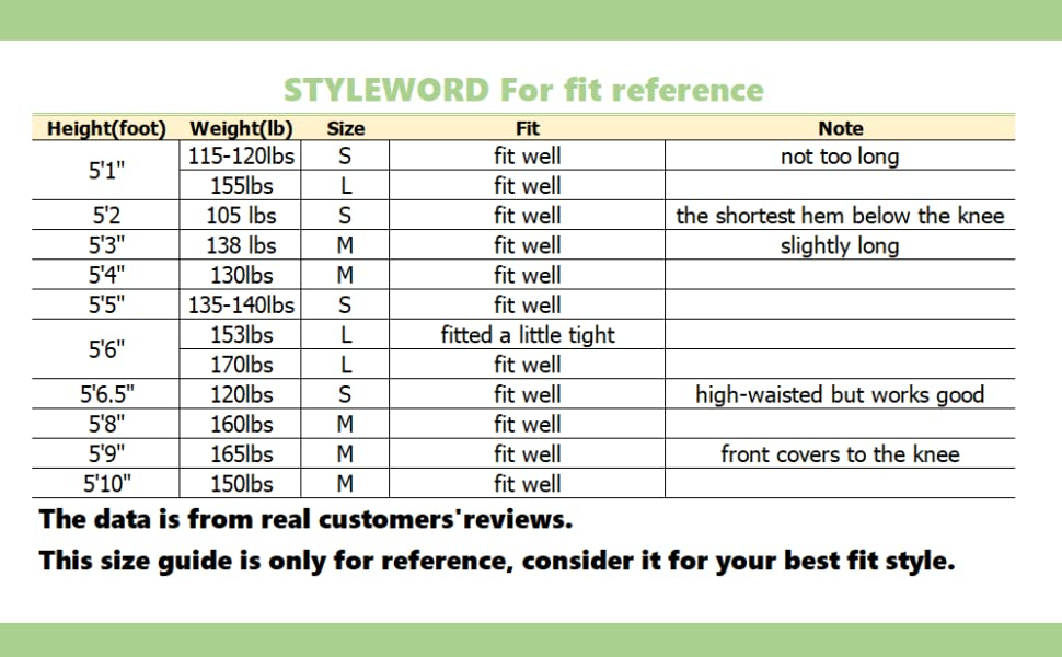 styleword maxi dress 591 size guide