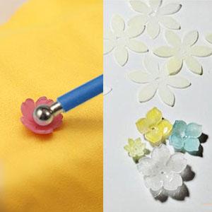 Shape the heat shrink plastic sheet