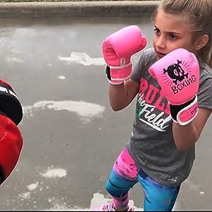 boxing gloves for kids girl