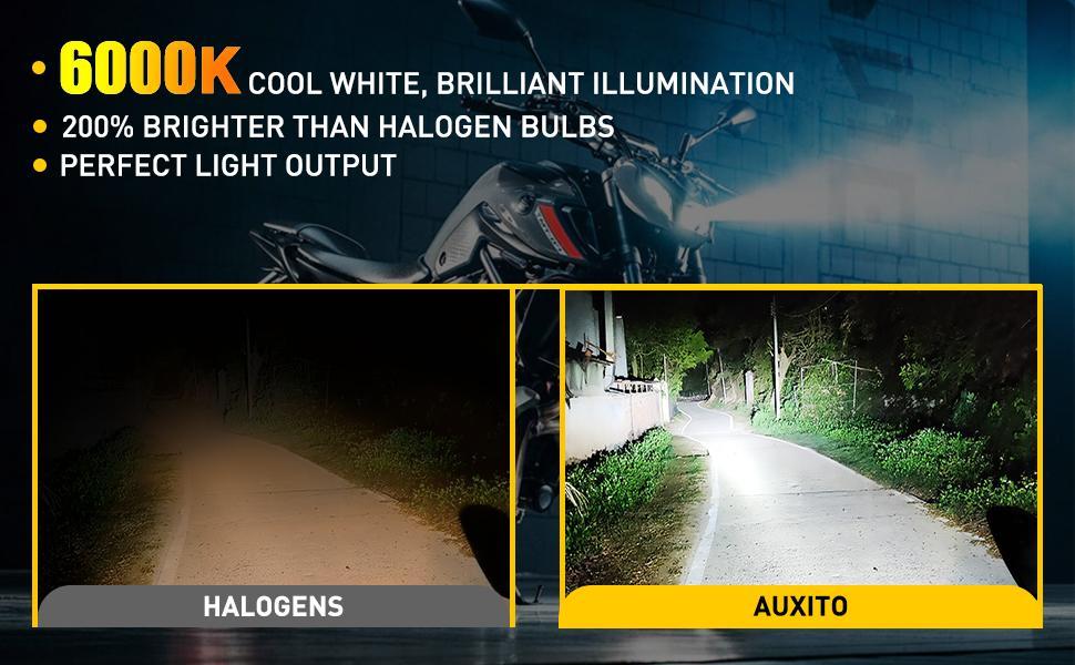 H4 led motorcycle bulbs