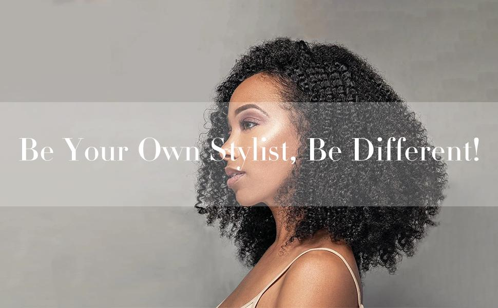 Be your own stylist, Be Different!