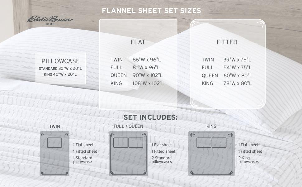 Flannel Sheet Set Sizes