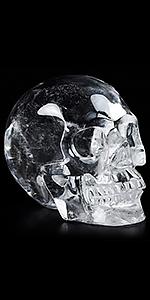 Quartz Rock Crystal SKull