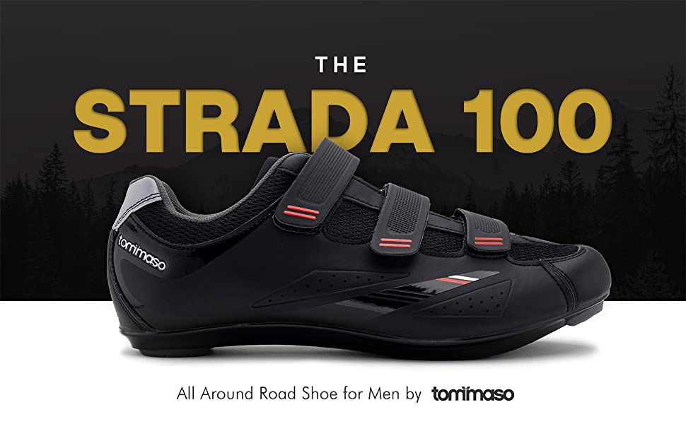 Tommaso Strada 100 shoe only men cycling shoes wide spinning