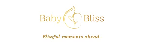 Brand Logo BabyBliss with text Blissful moments ahead