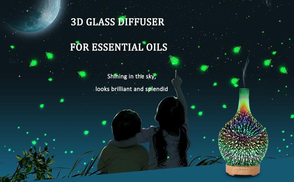 glass oil diffuser