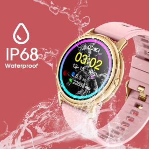 IP68 waterproof fitness watch