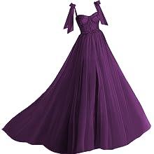 Grape Ball Gown