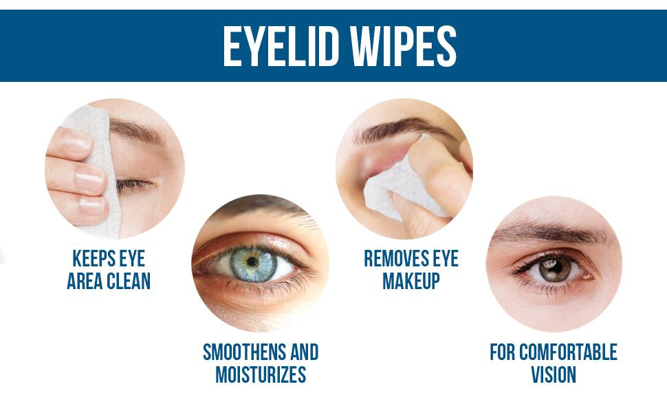 eye lid wipes dry eyes